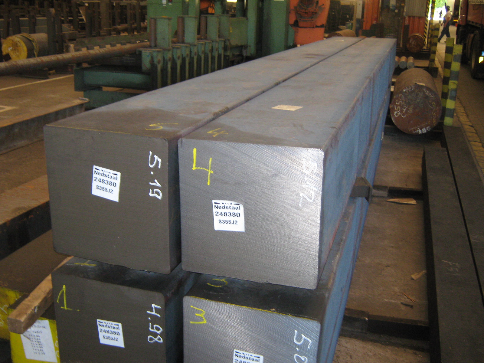 BEPRO Steel Square Bar S355J2 S355 Supplier