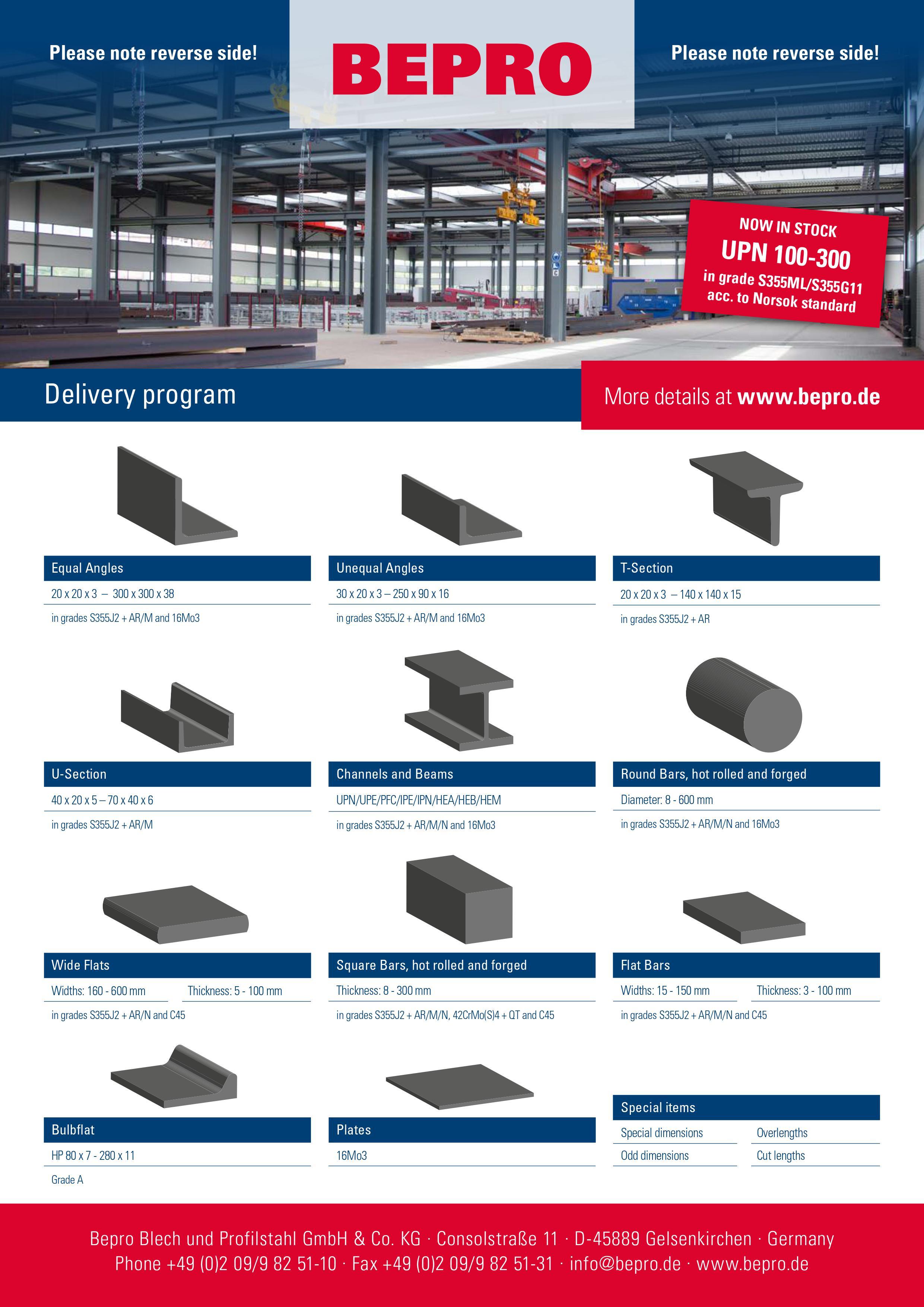 BEPRO Steel Aluminum Beams Supplier