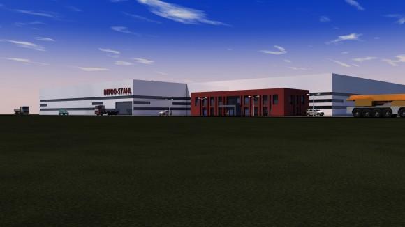 BEPRO Neue Lagerhalle