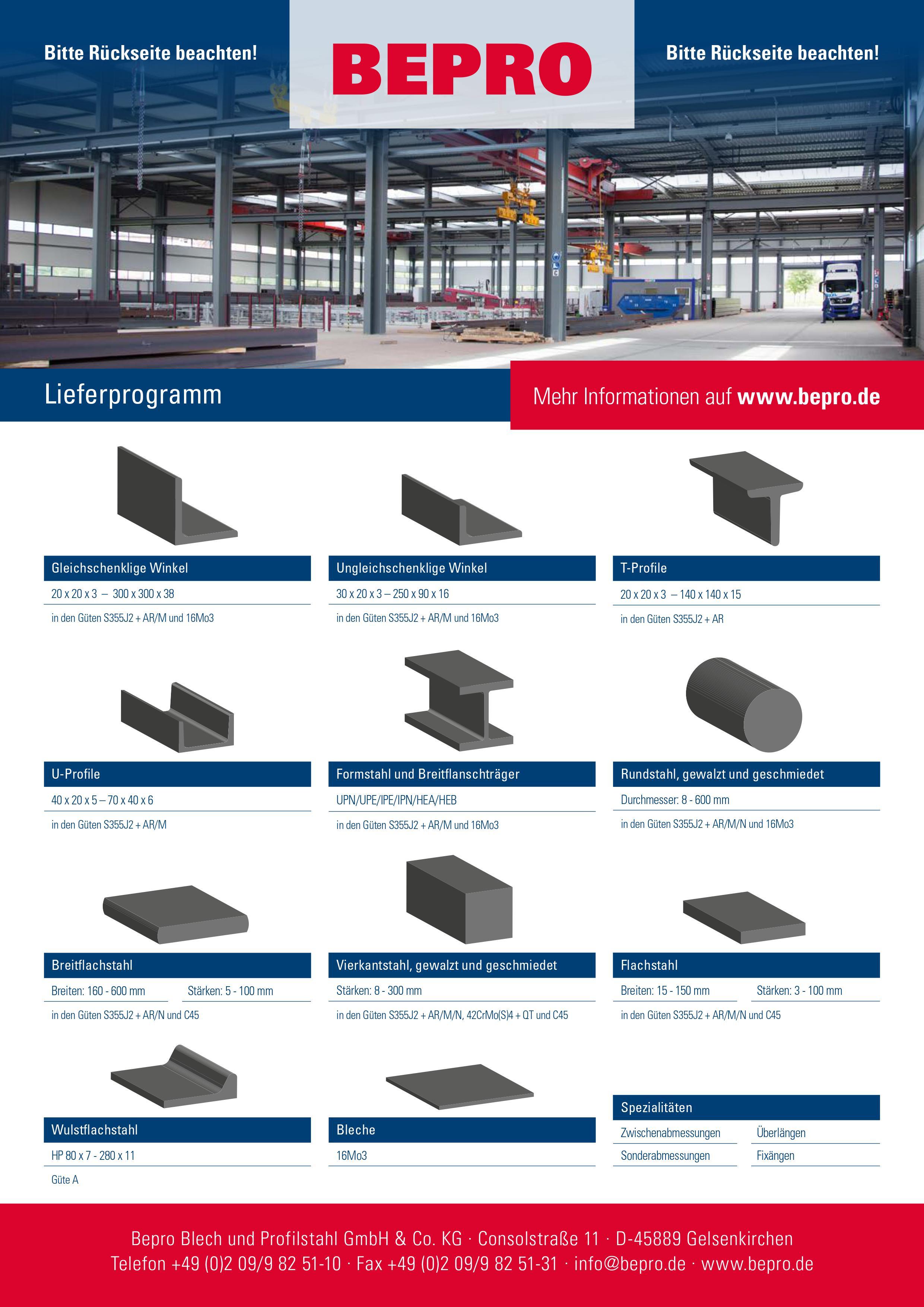 BEPRO Stahlhandel S355