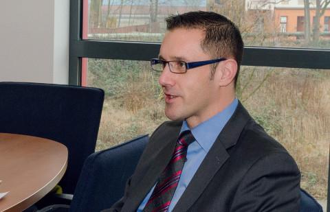 Sören Filipczak, Geschäftsführer der Bepro GmbH & Co. KG in Gelsenkirchen.